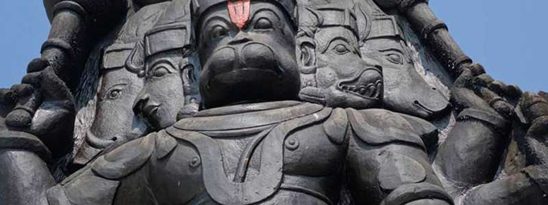 Five faced Hanuman temple