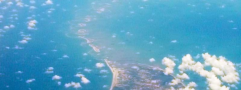 Adam's bridge/ Ram Setu